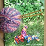 Unicorn Book & Knitting Gift Set
