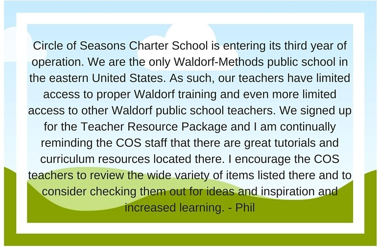 Circle of Seasons Charter School is entering its third year of op