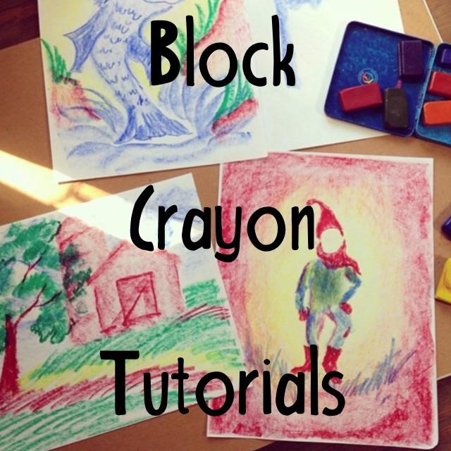 Block Crayon Instruction