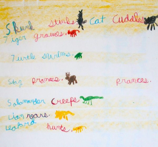 Third Grade Language Block