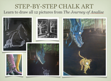 Chalk Drawings Step-by-Step: Journey of Analise