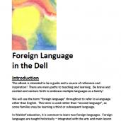 Teaching a Second Language