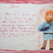 Fourth Grade Block Four: Norse Mythology Part II, Form Drawing, Cross Stitch & More...