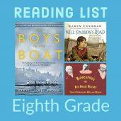 Reading List: Eighth Grade