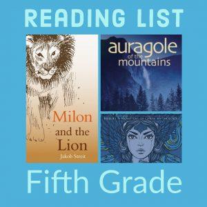 Reading List: Fifth Grade